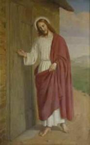 Jesus i altertavlen