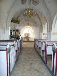 Skibet i Tørring kirke
