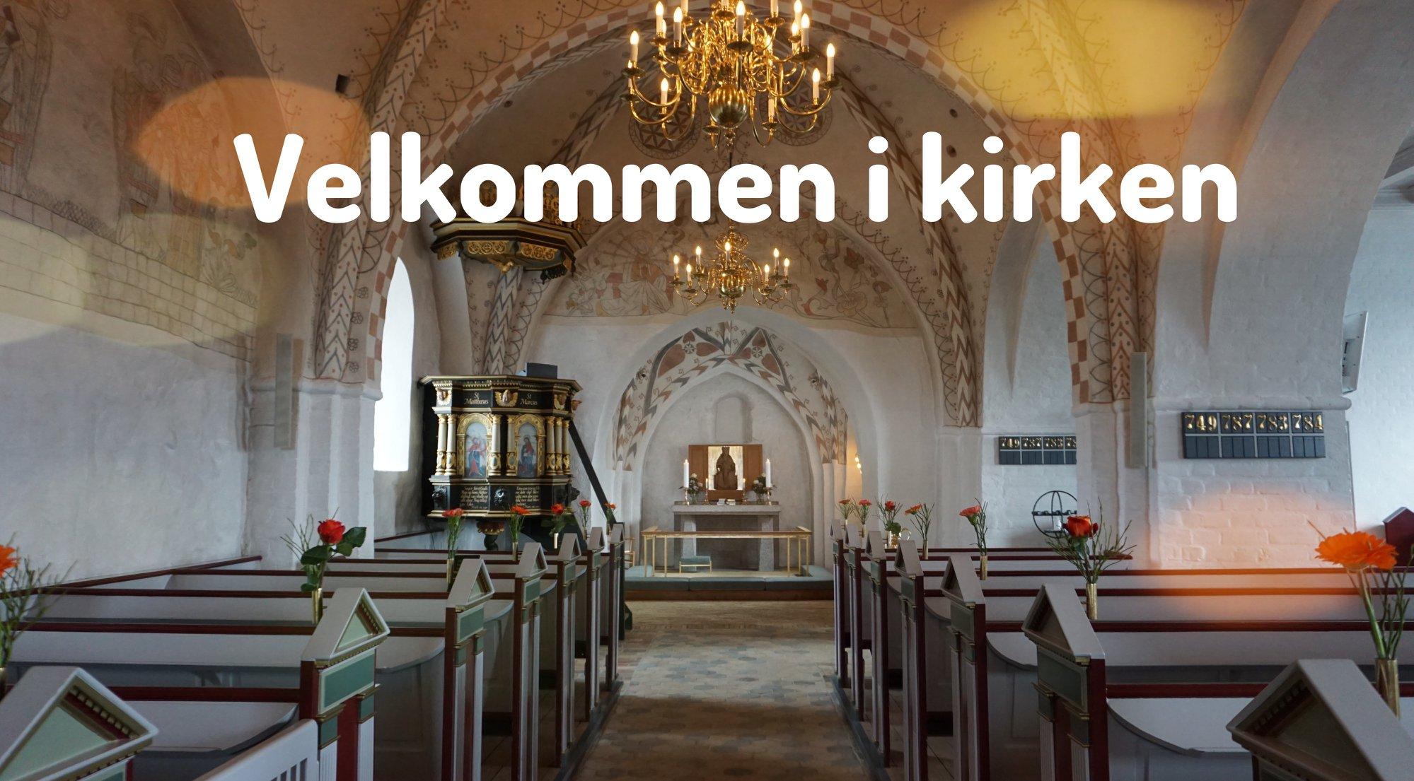 Corona restriktioner i kirken